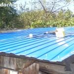Чем покрыть крышу сарая: просто и недорого