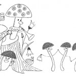 Сказка про грибы для детей «Куда спрятались грибы?»