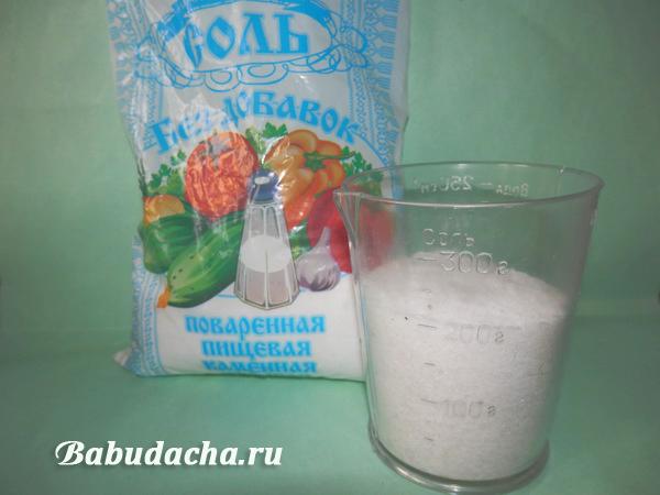 Мерный стаканчик отмерит точно, сколько соли положить