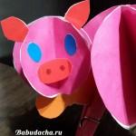 Год Свиньи 2019: Поделка «Свинка» в детский сад. Мастерим своими руками