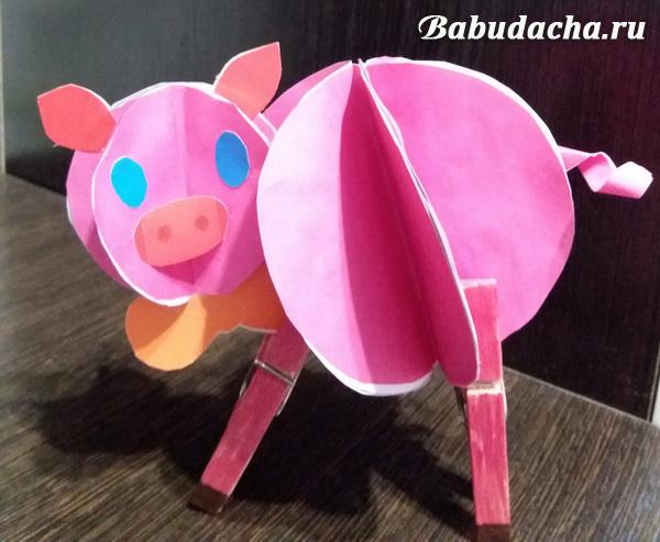 Поделки на Новый год Свиньи своими руками