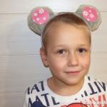 Мастер-класс: Мышиные ушки своими руками на Новый год 2020 для детского или семейного праздника