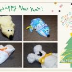 Делаем новогоднюю Мышку из полотенца своими руками: Пошаговый мастер-класс 2020
