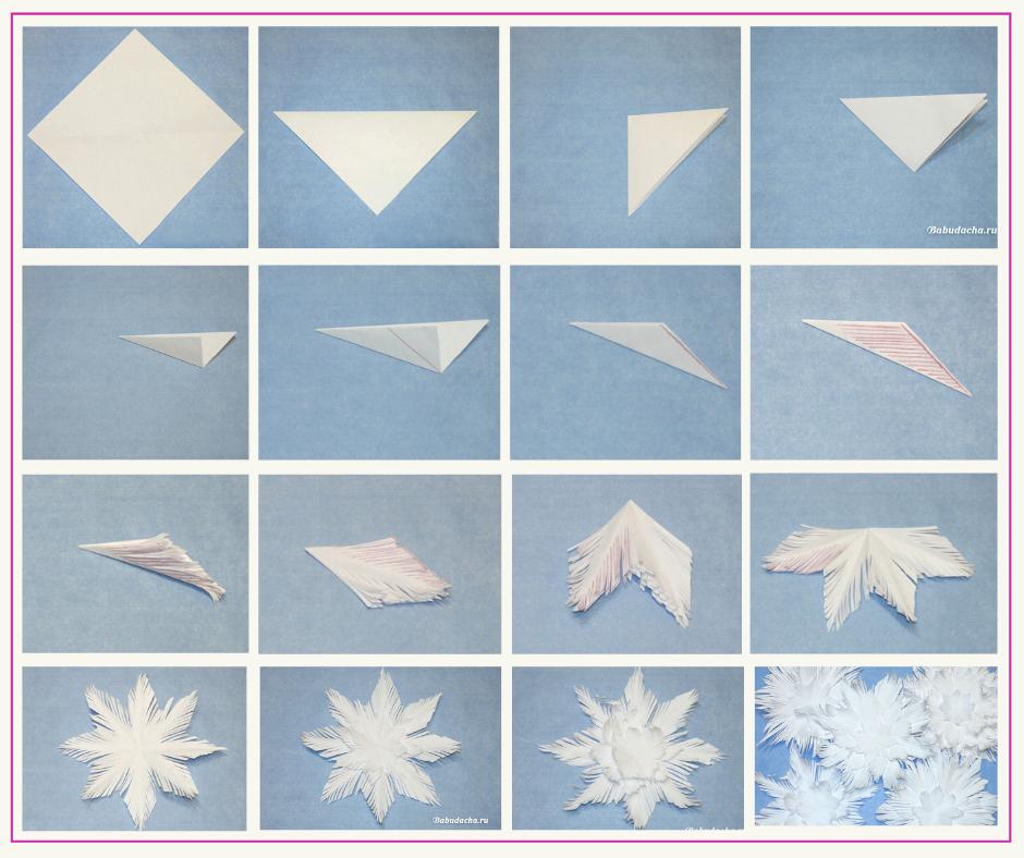 Мастер-класс: Снежинка своими руками. Схема и пошаговая инструкция